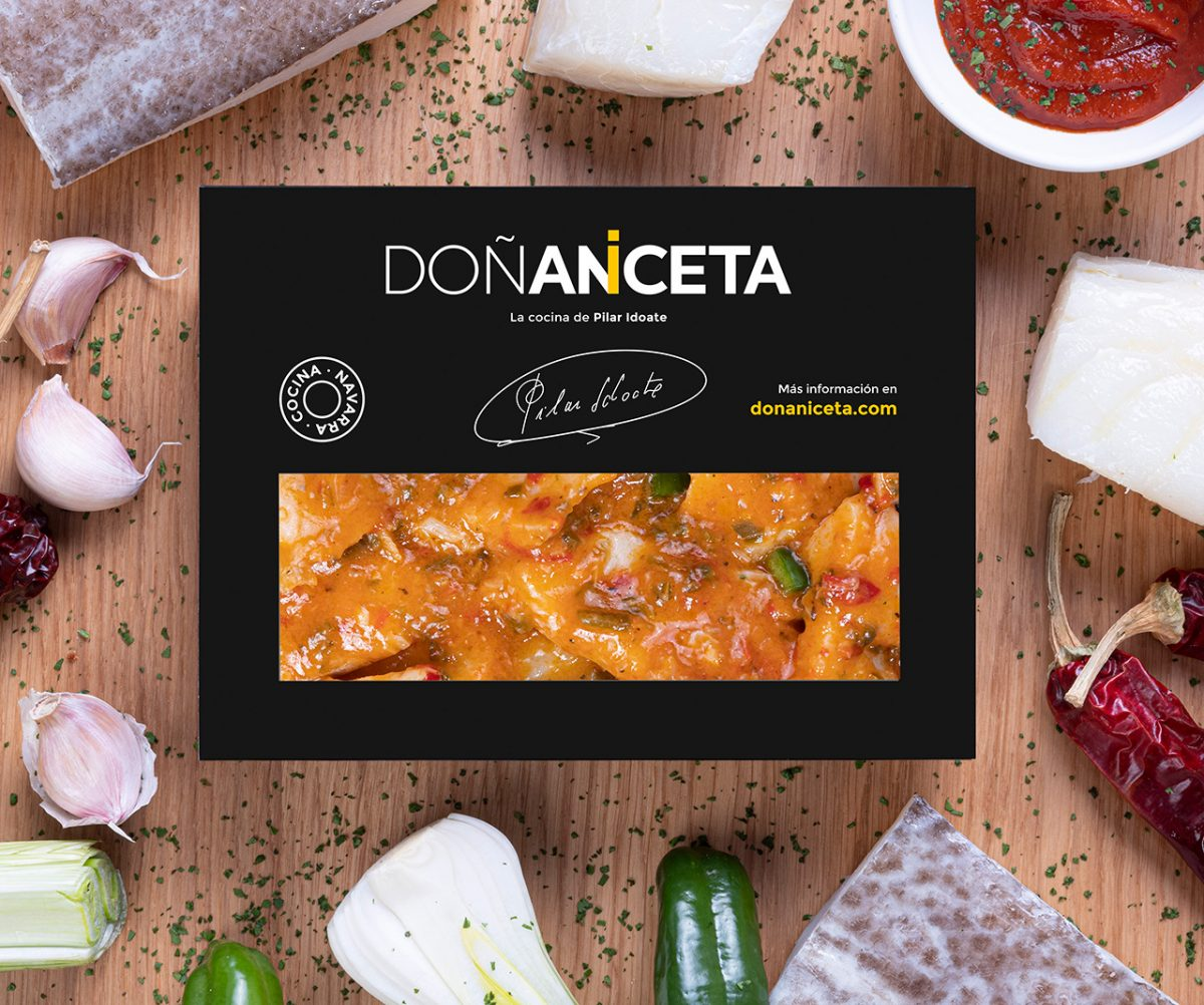 Bacalao Ajoarriero : Doñaniceta