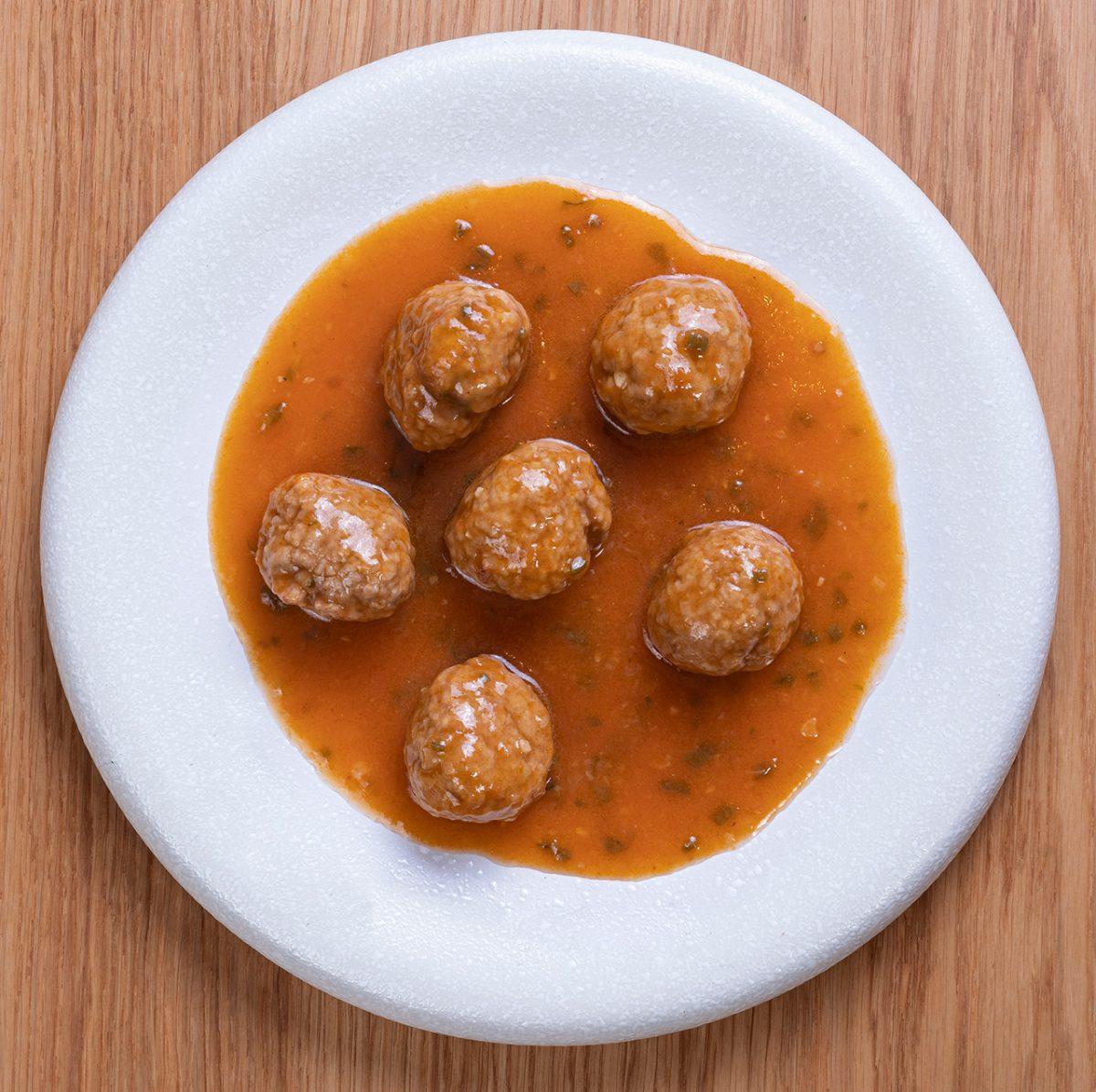 Albondigas de Ternera con Tomate : Doñaniceta