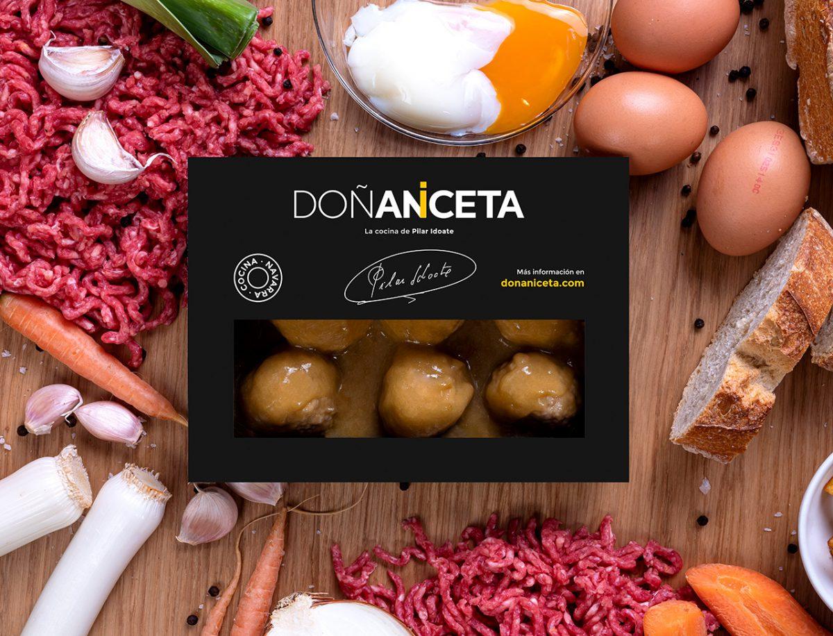 Albondigas de Ternera en Salsa : Doñaniceta
